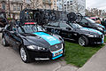 Tour de Romandie 2013 - Stage 5 - Team Sky's cars.jpg
