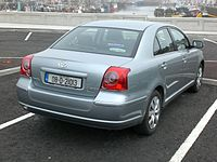 Toyota avensis wikipedia 2006 facelift sedan fandeluxe Gallery