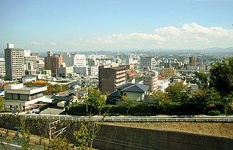 Toyota, Aichi - Toyota city skyline