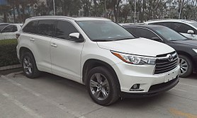Toyota Highlander Wikipedia