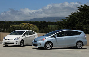 Here's photos of the new Toyota Prius V (comin...