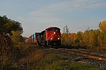 Trainspotting CN -8950 EMD SD70M-2 leading CN -2588 GE C44-9W (Dash 9-44CW) (8098455702).jpg