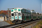 Trainspotting GO train -921 banked by MPI MP40PH-3C -613 (8123472196).jpg