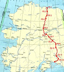 TransAlaska Pipeline System Wikipedia - Oil pipeline map north america
