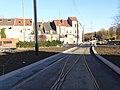 Travaux de la branche vers Vieux-Condé de la ligne B du tramway de Valenciennes en décembre 2013 (240).JPG