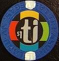 Treasure Island Hotel and Casino chip.jpg