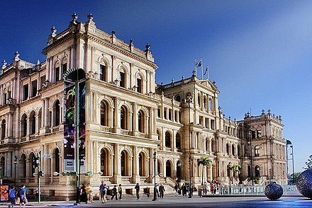 19th century sandstone Treasury Building Treasury Casino Brisbane.jpg