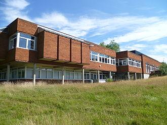 Trent Park - Former buildings of Middlesex University adjacent to Trent Park House.