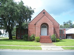 First Baptist Church (Trenton, Florida) - First Baptist Church founded in 1884