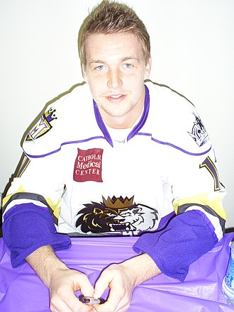 Trevor Lewis - Lewis in 2009 with the Manchester Monarchs