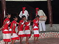 Tribal Dance in Gorumara National Reserve Forest, West Bengal, India.JPG