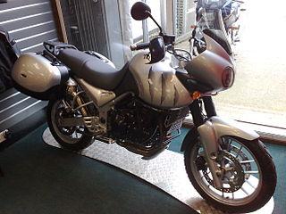 Triumph Tiger 955i British motorcycle