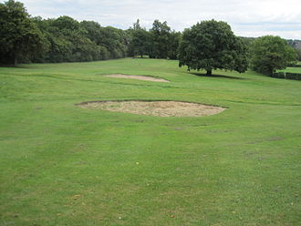 Tudor Sports Ground - Bunkers on the golf course