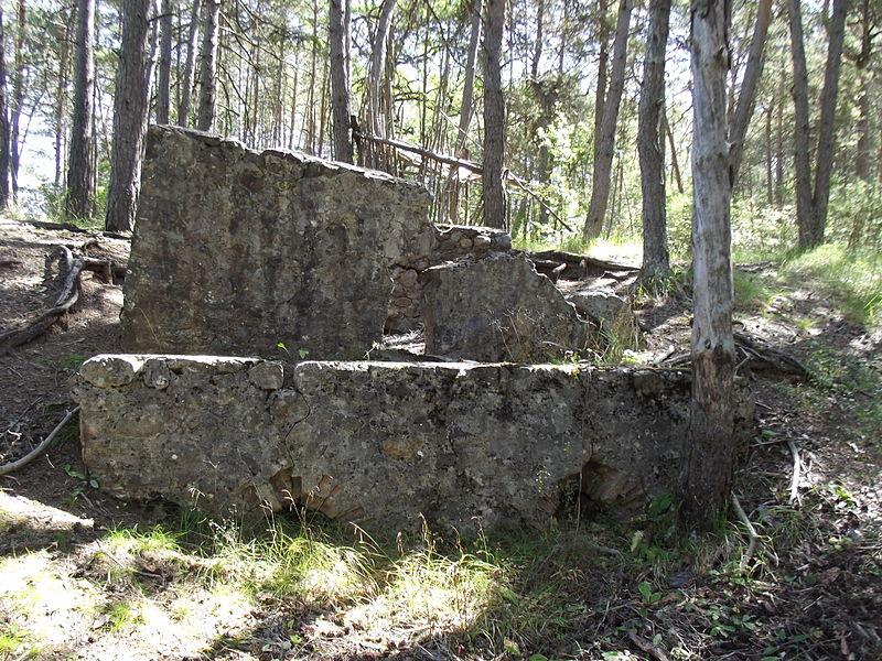 Ruine d'une tuilerie.