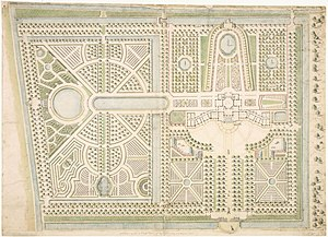 Huis ten Bosch palace - Design of the garden of Huis ten Bosch by the architect Daniël Marot