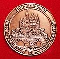 Tunnel Limburg Durchstich Medaille Vorderseite 1999-07-01.jpg