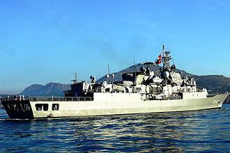 MEKO 200 - TCG Kemal Reis, a Salih Reis-class (MEKO 200 TN Track II-B) frigate of the Turkish Navy.