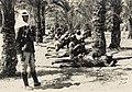 Turkish troops in action at Qatia 1915.jpg