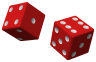 Two red dice 01.svg