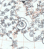 Typhoon Flossie surface analysis 27 July 1964.png