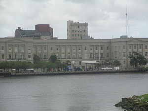 Wilmington, North Carolina - U.S. Courthouse in Wilmington, the backdrop of Andy Griffith's Matlock television series