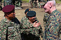 U.S. Marine Corps Lt. Gen. John Toolan, right, the commander of Marine Corps Forces Pacific, speaks with Malaysian army Gen. Tan Sri Raja Mohamed Affandi bin Raja Mohamed Noor, left, the chief of the Malaysian 140902-M-CB493-008.jpg
