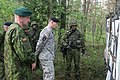 U.S. and Lithuanian paratroopers conduct Black Arrow Training Exercise (14033811640).jpg