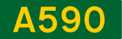 A590 road shield