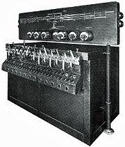 US&S Model 14 pwr interlocking w model board bulletin 100