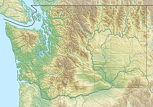 Goodell Creek is located in Washington (state)
