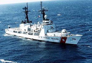 USCG photo of USCGC Hamilton (WHEC-715)