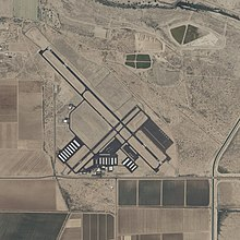 USGS digital orthophoto of Marana Regional Airport in Coolidge, Pima County, Arizona, United States.jpg