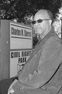 Charles Sherrod American activist