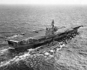 USS Constellation (CVA-64) refueling USS Jenkins (DD-447) c1962.jpg