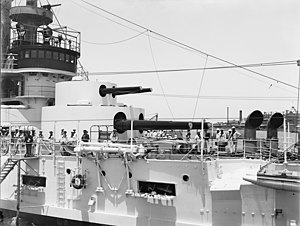 USS Kentucky (BB-6) - Kentuckys double turret, circa 1900–1901