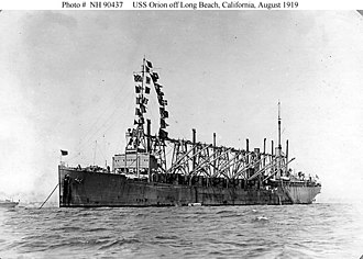 USS Orion (AC-11) - Image: USS Orion (AC 11)