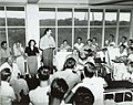 US Navy 030728-N-0000X-004 Entertainers Bob Hope and Francis Langford entertaining patients at the Coco Solo Hospital.jpg