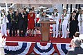 US Navy 070505-N-3642E-385 Sen. Daniel Inouye prepares to speak at the commissioning of USS Hawaii (SSN 776).jpg