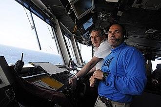 Jonathon Band - Band aboard USS Ronald Reagan (April 2009)