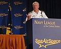 US Navy 100503-N-3548M-068 Chief of Naval Operations Adm. Gary Roughead gives his remarks during the Service Chiefs' Panel at the Navy League Sea Air Space 2010 Exposition.jpg