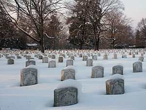 United States Soldiers' and Airmen's Home National Cemetery - Tombstones at the United States Soldiers' and Airmen's Home National Cemetery