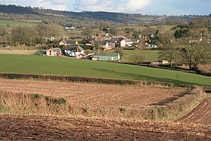Ashill, Devon - Image: Uffculme, towards Ashill from near Reed's Cross geograph.org.uk 130574