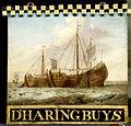Uithangbord, aan weerszijden beschilderd met een haringbuis Rijksmuseum SK-C-1582.jpeg