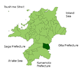 Ukiha in Fukuoka Prefecture.png