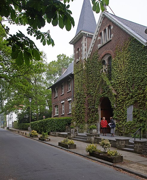 Sint-Annakerk in Ukkel, België