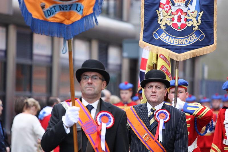 Ulster Covenant Commemoration Parade, Belfast, September 2012 (010).JPG
