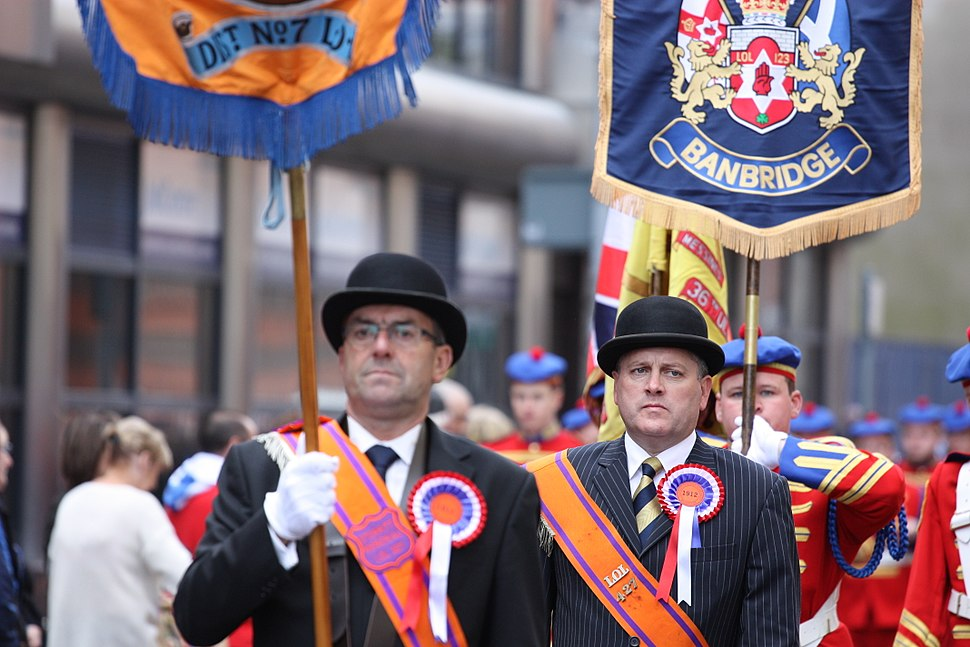 Ulster Covenant Commemoration Parade, Belfast, September 2012 (010)