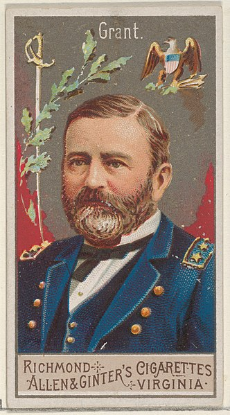 File:Ulysses S. Grant, from the Great Generals series (N15) for Allen & Ginter Cigarettes Brands MET DP834773.jpg