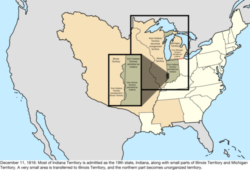 Territorial Evolution Of The United States Wikiwand - Most northerly state usa