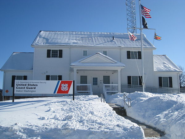 coast guard station washington